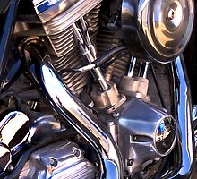 Bike Engine  Harley V  by lightmonger