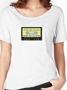 Driver Picks the Music, Shotgun Shuts His Cakehole Women's Relaxed Fit T-Shirt