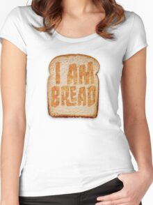 I am Bread 'Toast' logo - Official Merchandise Women's Fitted Scoop T-Shirt