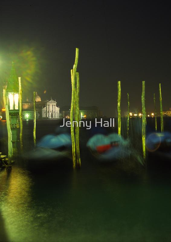 Night gondolas  by Jenny Hall