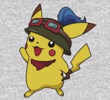 Teemo Pikachu Kids Clothes