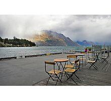 Heavy Cloud over Lake Wakatipu Photographic Print