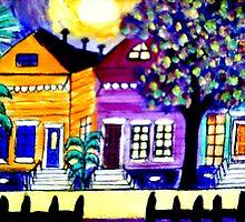 Bohemian Bywater Neighborhood by Ted Hebbler