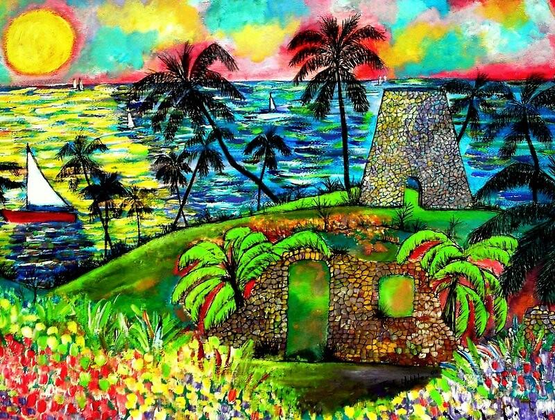 Sprat Hall Sugar Plantation, St. Croix by Ted Hebbler