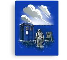 Dr. Interstellar Canvas Print