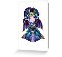 Chibi Victorious Morgana Greeting Card