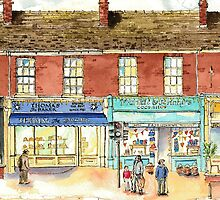 Frankie and Johnny's Cookshop, Bishy Road, York by RonnieCruwys