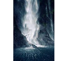 Bowen Falls, New Zealand Photographic Print
