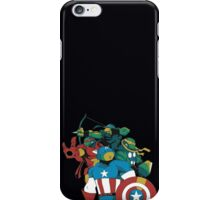 Turtles Avengers iPhone Case/Skin