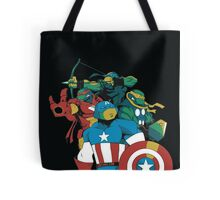 Turtles Avengers Tote Bag