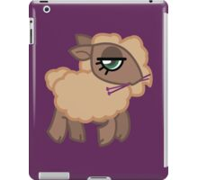 Knitting Sheep - Natural iPad Case/Skin