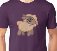 Knitting Sheep - Natural Unisex T-Shirt