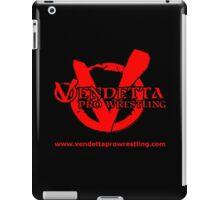 Vendetta Pro Wrestling logo iPad Case/Skin