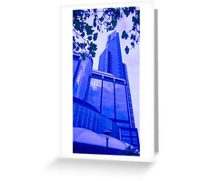 Southbank Skyscraper Greeting Card