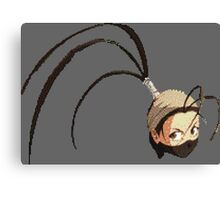 Ibuki Pixelated Canvas Print