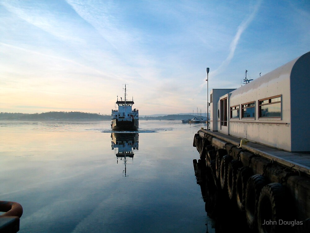 Ferry, Oslo by John Douglas