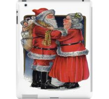 Vintage Mr and Mrs Claus iPad Case/Skin