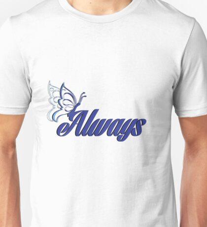 Caskett blue butterfly Unisex T-Shirt