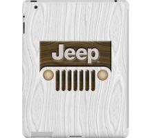 Jeep Willys ~ Wood [White] iPad Case/Skin