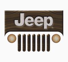 Jeep Willys ~ Wood [White] T-Shirt