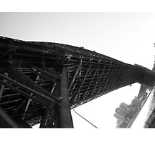 Low angle shot of Sydney Harbour Bridge, 2006 Photographic Print