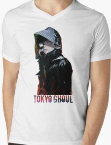 Anime: TOKYO GHOUL - Kaneki Mens V-Neck T-Shirt