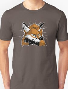 STUCK - Red Fox Unisex T-Shirt