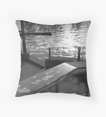 To the river we go Throw Pillow