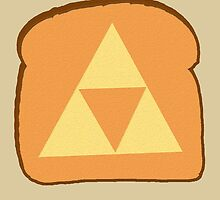 Triforce toast by jrx1216