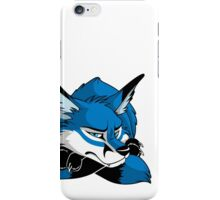 STUCK - Blue Fox iPhone Case/Skin