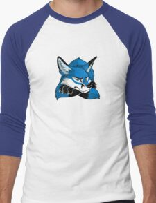 STUCK - Blue Fox Men's Baseball ¾ T-Shirt