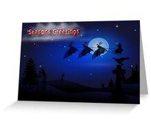 Seasons Greetings - Christmas Greeting Card