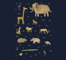 African Animals Kids Clothes