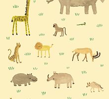 African Animals by Sophie Corrigan