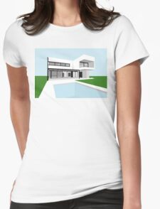 A House in Buenos Aires, Argentina Womens Fitted T-Shirt