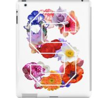 The letter S iPad Case/Skin