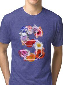 The letter S Tri-blend T-Shirt