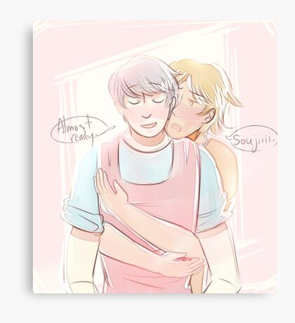 souyo cooking Canvas Print