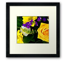 Floral Beauty Framed Print