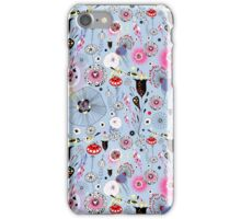 fantastic floral pattern with birds iPhone Case/Skin