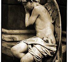 Statue, Cementerio de Recoleta, Buenos Aires by Andrew Gibson