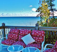 Layers ~ Colors, Contrasts & Comfort On Lake Ontario by artwhiz47