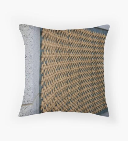 Washington DC World War II Stars Throw Pillow