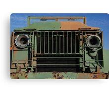 Army Truck Canvas Print
