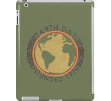 Earth Day: Old School iPad Case/Skin