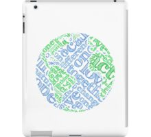 Earth Day: Love. Act. Change. iPad Case/Skin