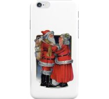 To Grandma and Granded Mr and Mrs Claus Christmas Card iPhone Case/Skin