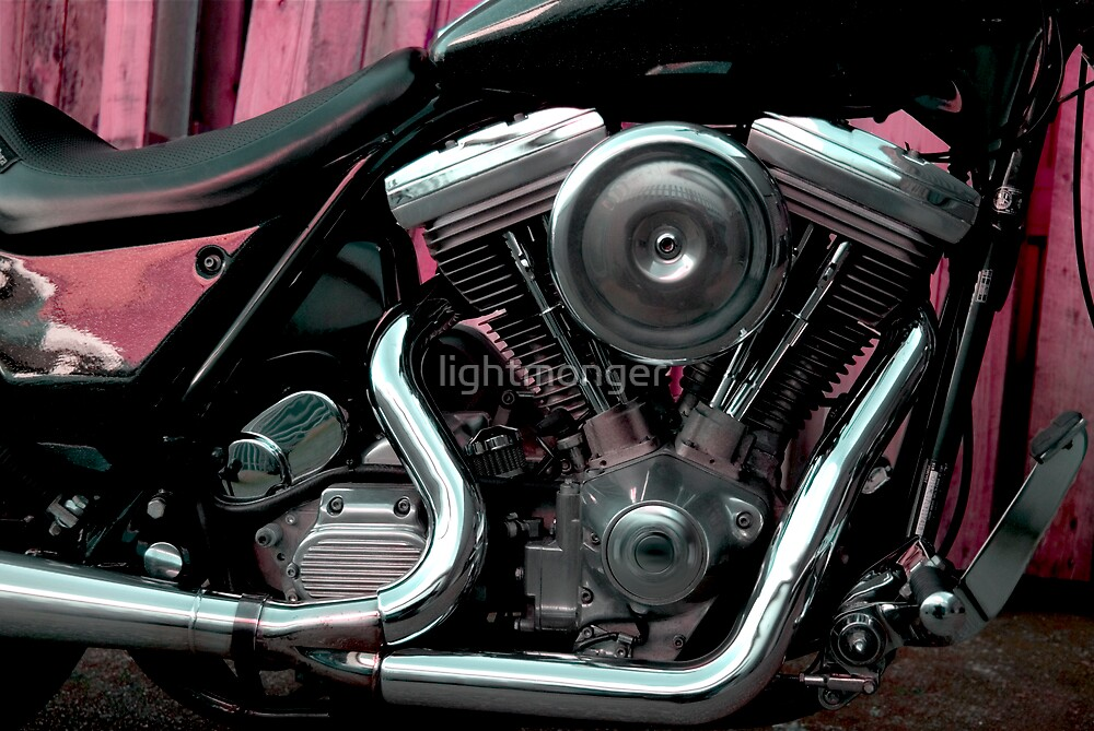 Harley Davidson Motorcycle by lightmonger