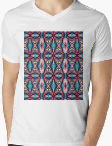 Cute Colourful Patterns Mens V-Neck T-Shirt