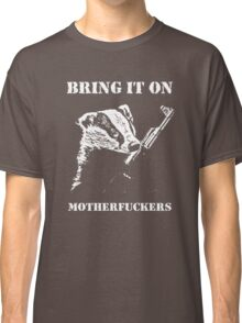 Badger Fights Back Classic T-Shirt